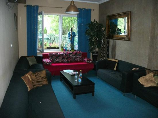 Hostel Krokodyl: Lounge