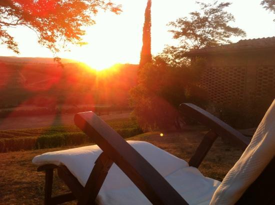 Il Rosolaccio: Sonnenuntergang