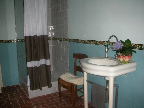 La Vagabonde: salle de bain