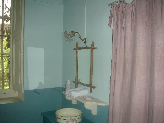 La Vagabonde : salle de bain