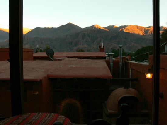 Antigua Tilcara B&B: Vista desde Cafetería