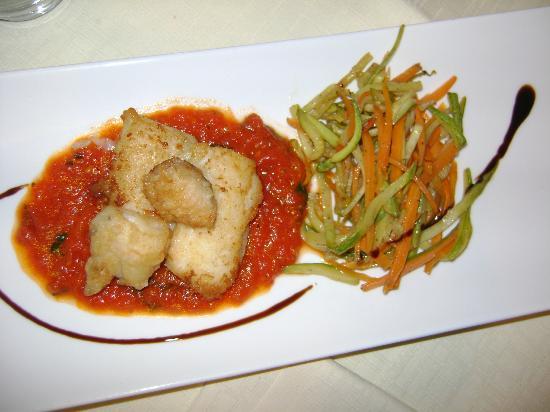 Tenuta La Lupa: Één van de heerlijke gerechten