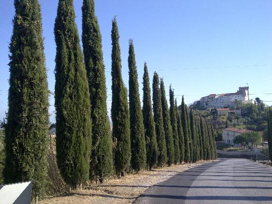 Hotel Terra della Lupa: Bergje op bij Castellina Marittima