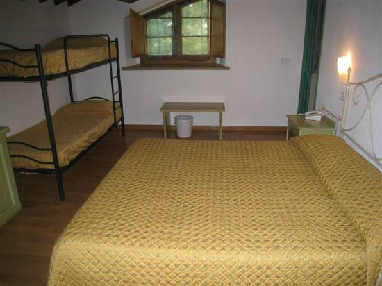 Hotel Terra della Lupa: Onze kamer