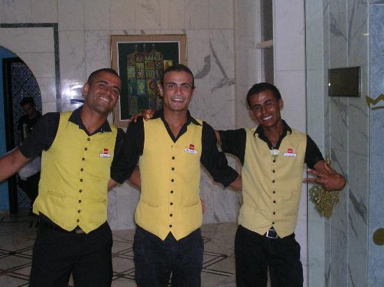 Vincci El Mansour : 3 des animateurs (LOUIS à droite)