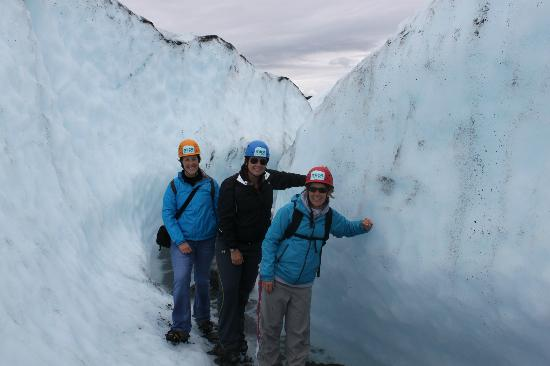 Sheep Mountain Lodge: Matanuska Glacier Trek