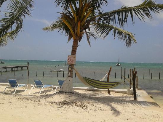 Kokomo Beach Suites: Beach in Front of Hotel
