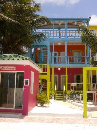 Kokomo Beach Suites: Most Colourful Hotel on the Island