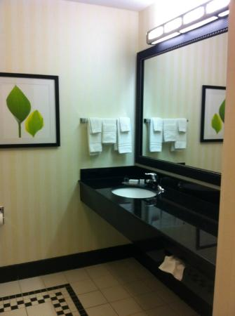 Fairfield Inn & Suites Columbia: Bathroom