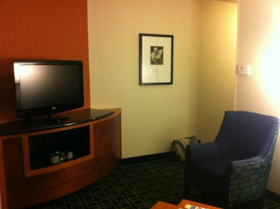 Fairfield Inn & Suites Columbia: LR