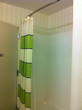 Fairfield Inn & Suites Columbia: Shower curtain
