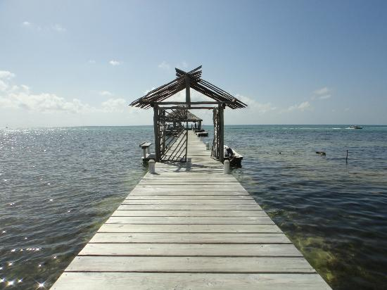 Ak'bol Yoga Retreat & Eco-Resort: Pier to do yoga/swim from
