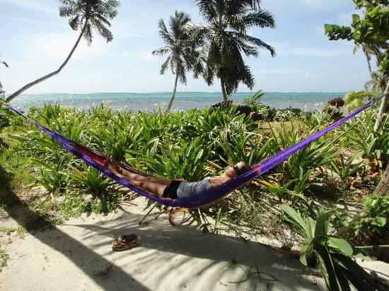 Ak'bol Yoga Retreat & Eco-Resort: Hammock outside our cabana