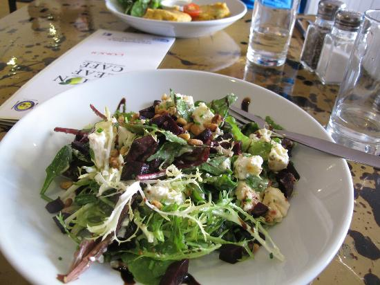 The Lemon Leaf Cafe: Goat Cheese and Beet Salad!