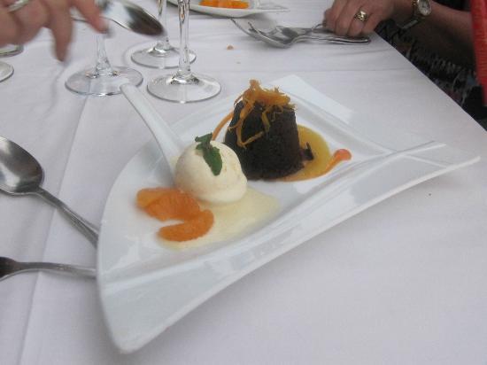 La Alcaria de Ramos: Chocolate dessert