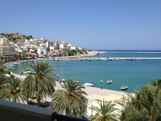 Itanos Hotel : utsikt fra rom 302, Itanos, Siteia