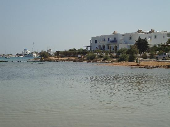 View of Mike's place from baby beach