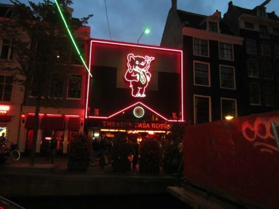 Rotlichtviertel Walletjes: Casa Rosso