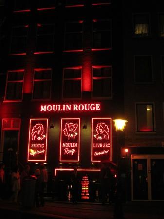 Rotlichtviertel Walletjes: Moulin Rouge