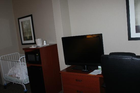 Sleep Inn & Suites: lcd tv