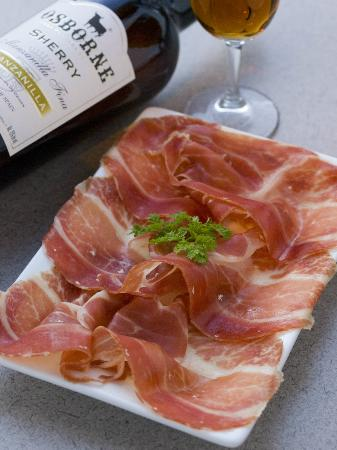 Ondo's Spanish Tapas and Bar: Famous Iberico Ham