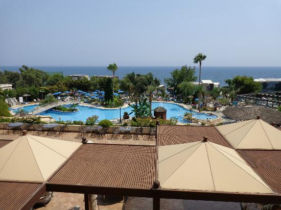 Atlantica Bay Hotel: View from room 235