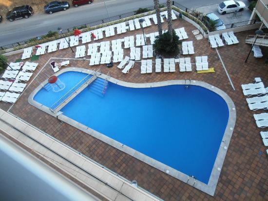 Piscina picture of h top royal star spa lloret de mar for Piscina lloret