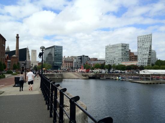 Days Inn Liverpool City Centre: zona circostante