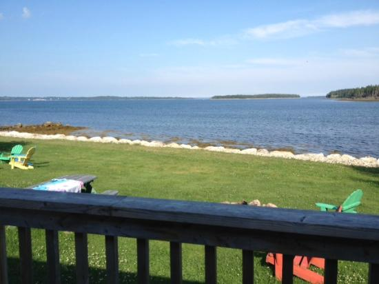 Atlantica Oak Island Resort & Conference Centre: The view from our deck...