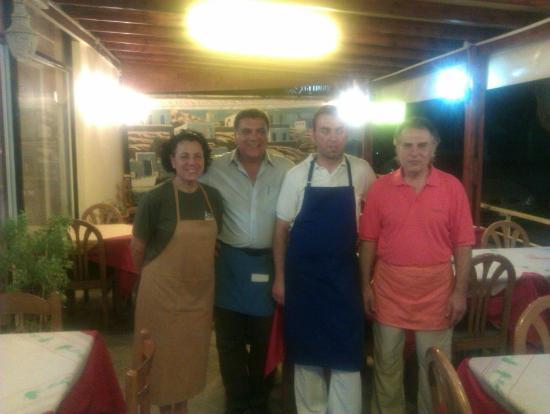 Taverna Christiana: Staff