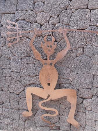 El Diablo Restaurant: simbolo del timanfaya