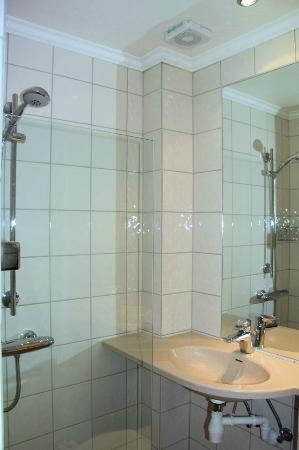 Hotel Park Bergen: Shower and sink combo? 