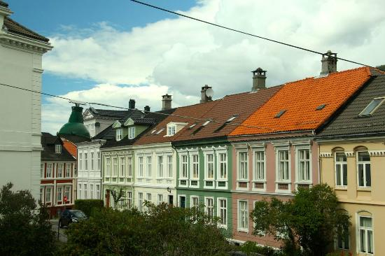 Hotel Park Bergen: View from Rm 117
