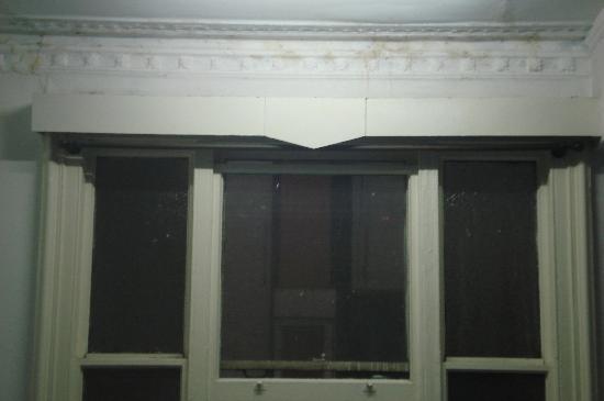 Hyde Park Hostel: fenêtre de la chambre