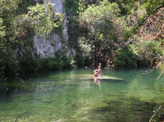 Riserva Naturale Orientata Cavagrande del Cassibile: area attrezzata martin pescatore
