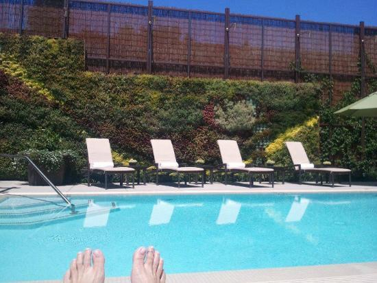 Fess Parker Wine Country Inn: Pool and Spa Services area