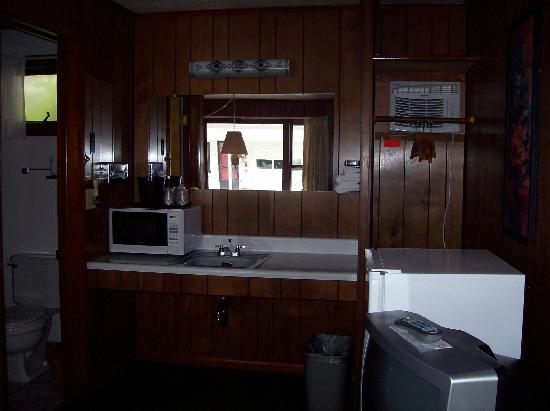 Bambi Motel : Sink and microwave