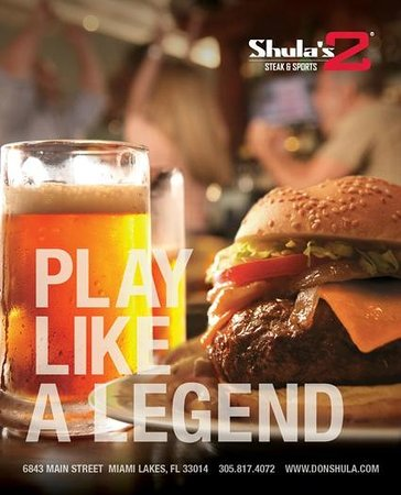 Shula's 2 Steak & Sports: Play Like A Legend