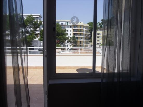 Be Live Adults Only Costa Palma: view of balcony from bedroom.