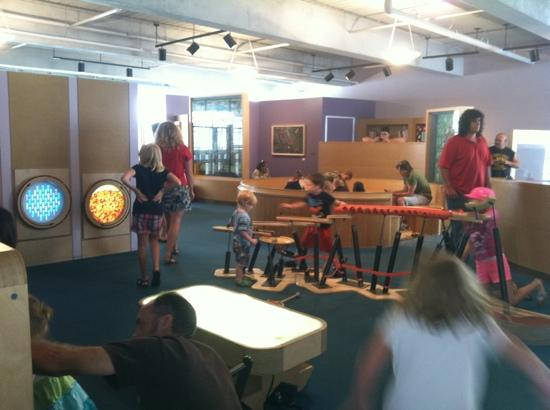 Children's Museum of Pittsburgh : 2nd floor