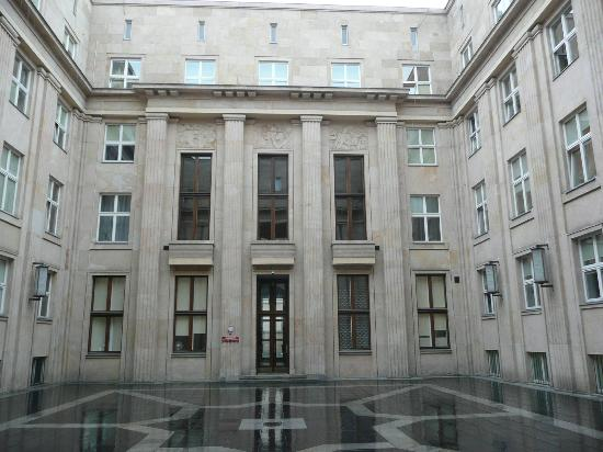 Courtyard - museum is to left - Picture of Gestapo ...
