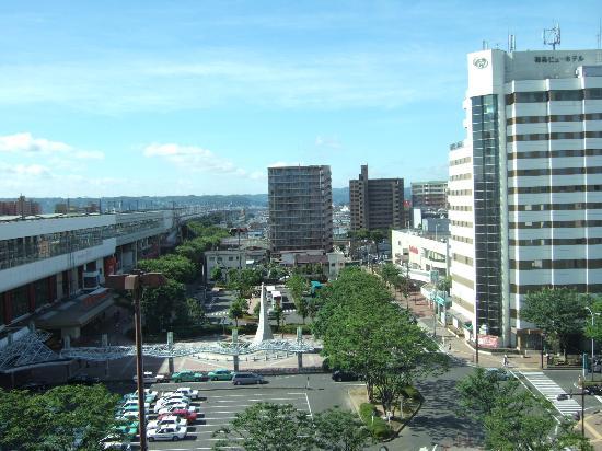 Richmond Hotel Fukushimaekimae : view from the room