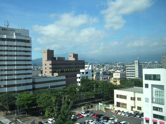 Richmond Hotel Fukushimaekimae: view from the room