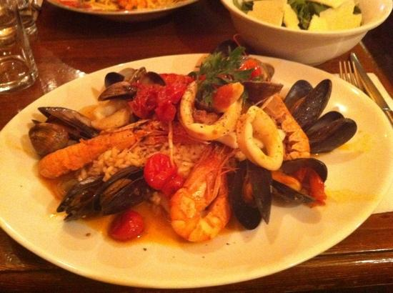 Westerham, UK: Seafood Risotto