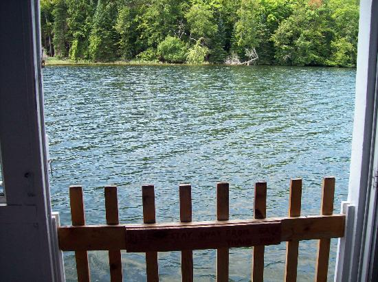 Au Sable River Queen: View from gated entrance