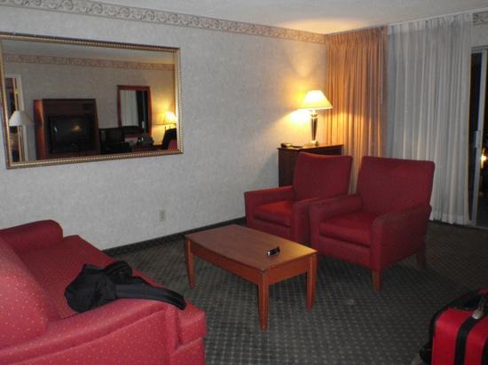 Hotel Rosedale: le salon dans la chambre