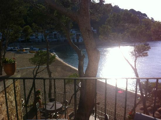 Hotel Hostalillo : Amanecer en la cala de Tamariu