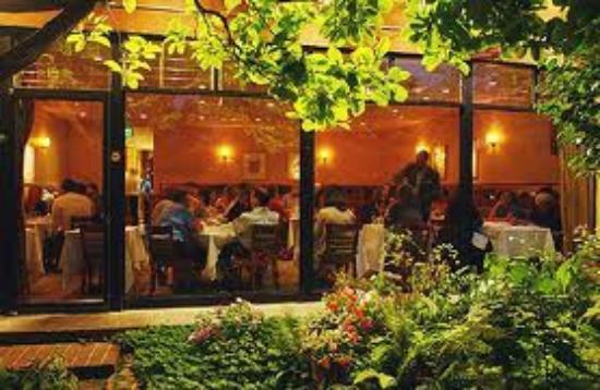 Rivoli Restaurant: Rivoli from the Patio