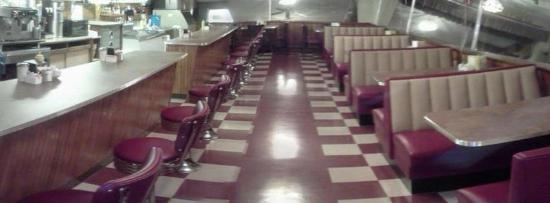 Top's Diner: Newly remodeled May 2012.  New booths, tables, floor, restrooms!