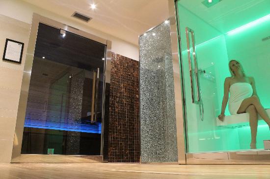 sauna e bagno turco - Picture of Hotel Aquila D\'Oro, Misano ...